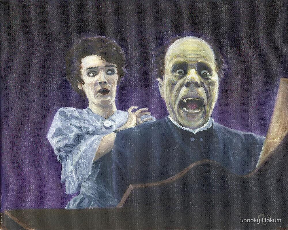 The Phantom Unmasked (Lon Chaney) by Conrad Stryker