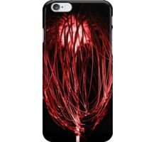 Page inverted red iPhone Case/Skin