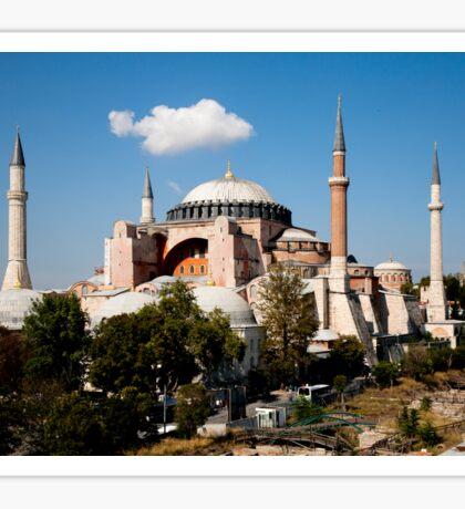 Hagia Sophia by Day Sticker