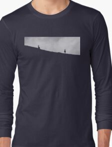 Two negative inverted reindeer Long Sleeve T-Shirt