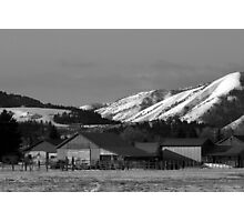 Homestead in Piney Pass ~ Idaho Photographic Print