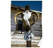 Welcome to Route 66 Poster