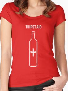 Thirst Aid Women's Fitted Scoop T-Shirt