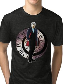 The 12th Doctor - Peter Capaldi Tri-blend T-Shirt