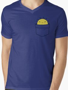 My Pocket Sun Mens V-Neck T-Shirt