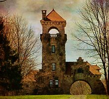 Mohonk NY Gatehouse by PineSinger