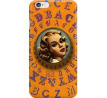 Alphabet-girl 6 iPhone Case/Skin
