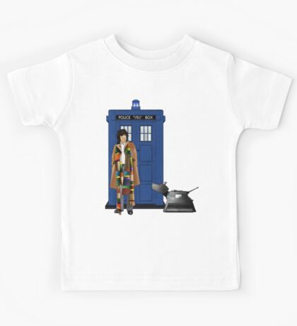 The Doctor and K-9 Kids Tee