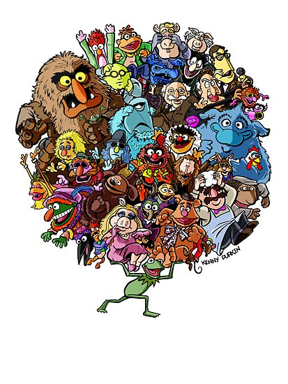 Muppets World of Friendship by Kenny Durkin
