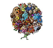 Muppets World of Friendship Photographic Print