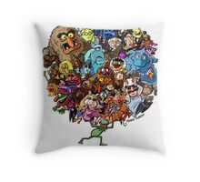 Muppets World of Friendship Throw Pillow