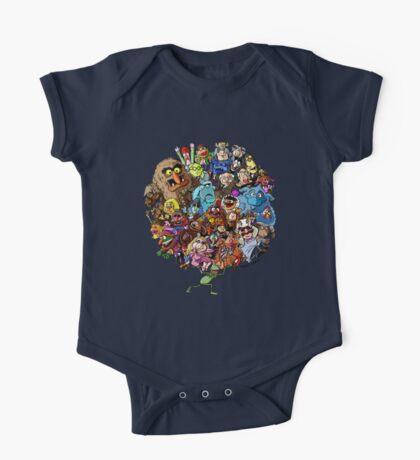 Muppets World of Friendship One Piece - Short Sleeve