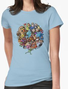 Muppets World of Friendship Womens Fitted T-Shirt