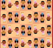 90s Pack- Fresh Prince Print by racPOP Cases