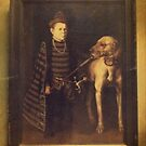 Man and His Dog by identit3a