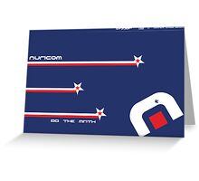 Wipeout Auricom Poster Greeting Card