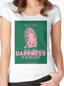 Darkness [Lush] Women's Fitted Scoop T-Shirt
