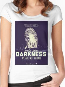 Darkness [Retro] Women's Fitted Scoop T-Shirt