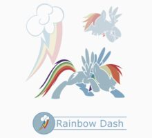 Rainbow Dash - Plain & Simple by WubSauss