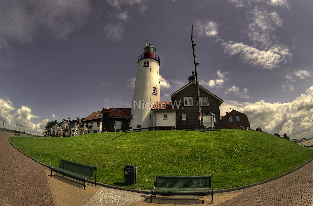 Lighthouse in Urk by Nicole W.