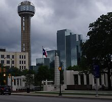Dealey Plaza - Reuinon Tower - Downtown Dallas - May 2013 by seymourpics