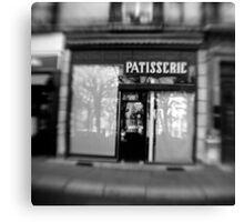 Patisserie - Grenoble, France Canvas Print