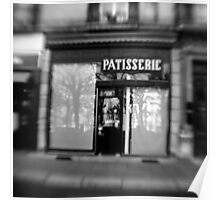 Patisserie - Grenoble, France Poster