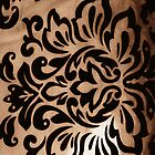 Antique damask iPhone case by flaaaash