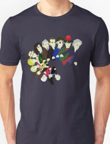 The 13 Puppet Doctors T-Shirt