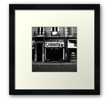 Laverie - Grenoble, France Framed Print