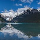 Reflections in Lake Louise, Alberta, Canada by Gerda Grice