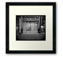 Maison des cappelletti - Grenoble, France Framed Print