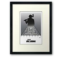 Shining-black version (SK Films) Framed Print