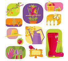 Summer Farm by rusanovska