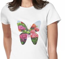 Garden Corner - Original Painting Womens Fitted T-Shirt