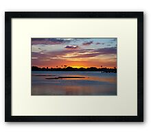 Reign of total peace Framed Print