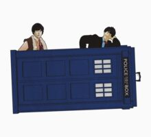 The Second Doctor and Jamie Kids Tee