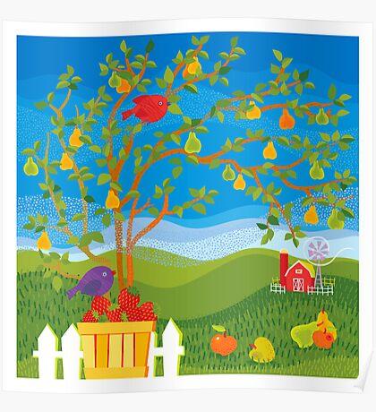 Summer Farm Poster