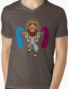 Jesus is a Hipster Mens V-Neck T-Shirt