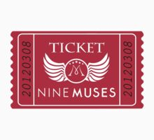 Nine Muses - Ticket by kpop-shop