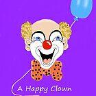 A Happy Clown. by Melba428