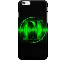 PI Radio Logo (Green) iPhone Case/Skin