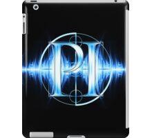 PI Radio Logo (Light Blue) iPad Case/Skin