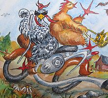 Fowl Play Series: Biker Chicks by Jeanne Vail