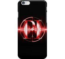PI Radio Logo (Red) iPhone Case/Skin