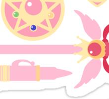 Sailor Moon Accessories w/logo Sticker