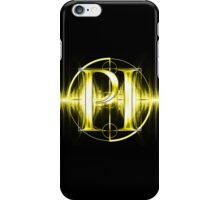 PI Radio Logo (Yellow) iPhone Case/Skin