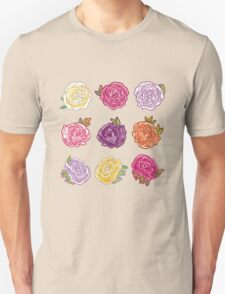 Decorative Roses T-Shirt
