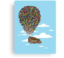 Up Over Springfield Canvas Print
