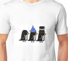 Penguin Hats Pixel Unisex T-Shirt